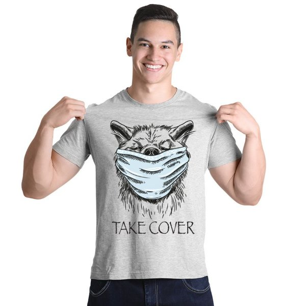 Camiseta Cachorro Take Cover