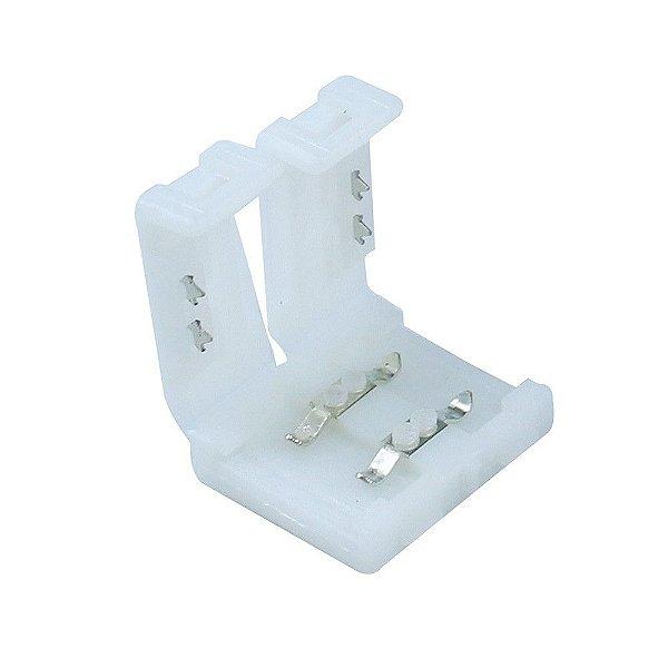 Conector Rápido Para Fita Led 5050 2 Vias 10mm Sem Solda