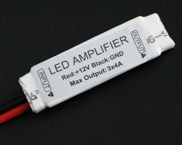 Amplificador de Sinal Para Fita Led Rgb 5050 3528