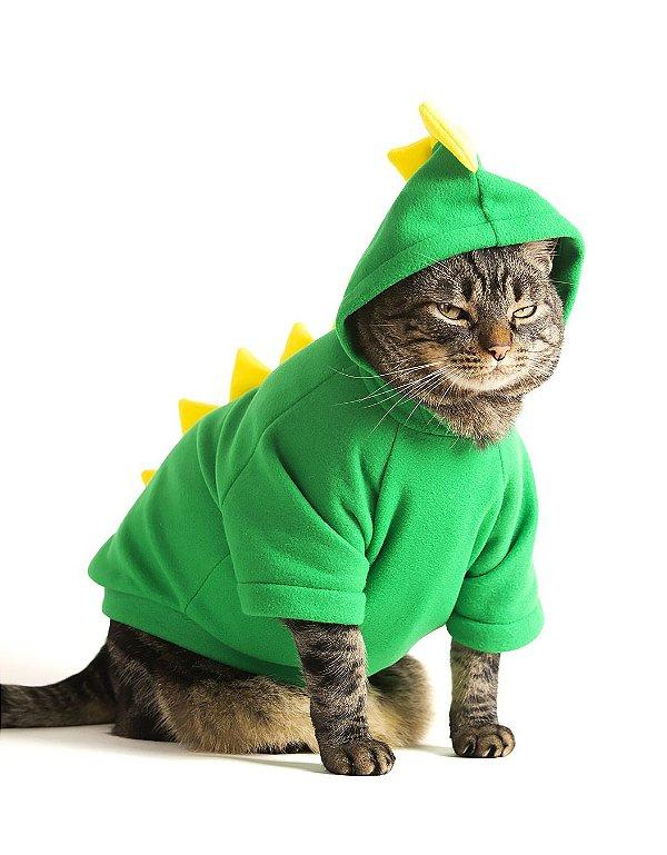 Fantasia de Dinossauro | Para Gatos