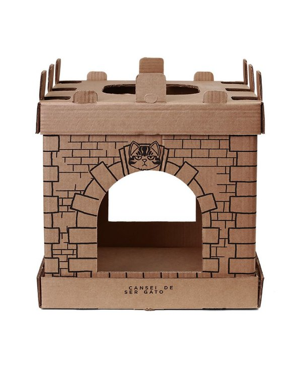 Castelo Papelão | Para gatos