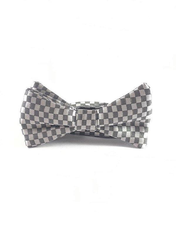Gravata Borboleta PET Xadrez