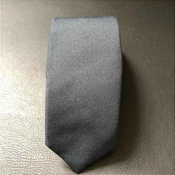 Gravata Slim Oxford Azul