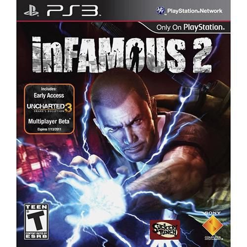 Game Infamous 2 - Playstation 3 PS3