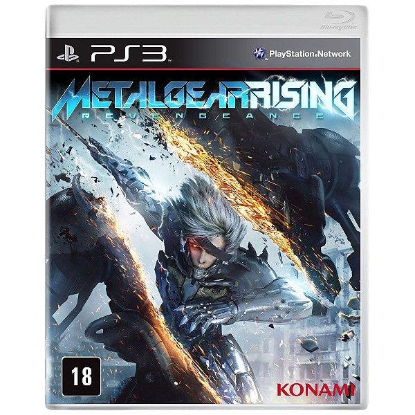 Game Metal Gear Rising - PlayStation 3 Ps3