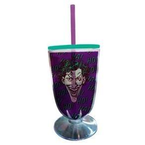 Taça Acrilica DC Joker Face Colorido