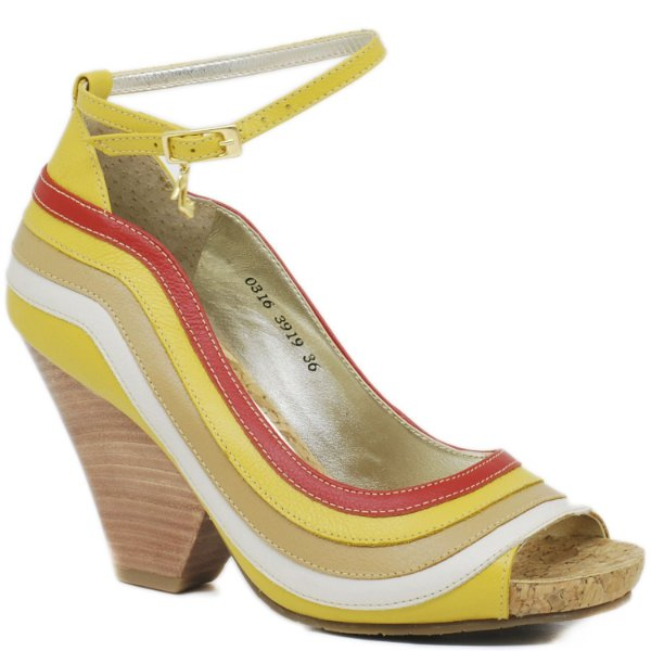 Sandália Anatômica Colors - 3919 - Amarelo
