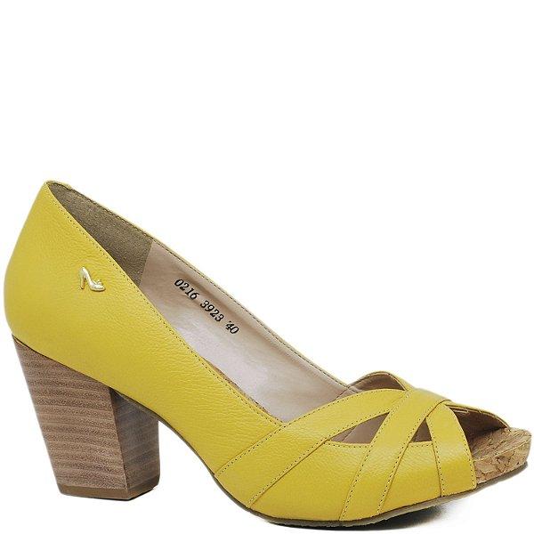 Peep Toe Anatômico - 3923 - Amarelo