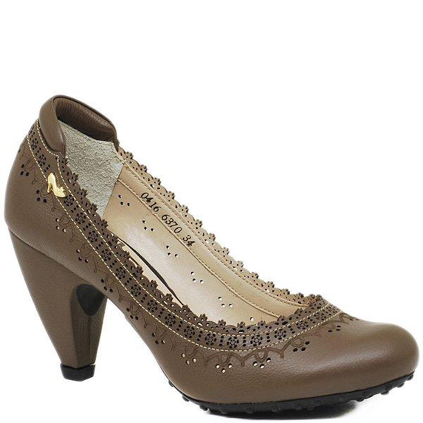 803deadc4a sapato boneca classico bico redondo couro - Sapatos