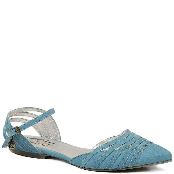 Sapatilha Bico Fino - 9838 - Azul