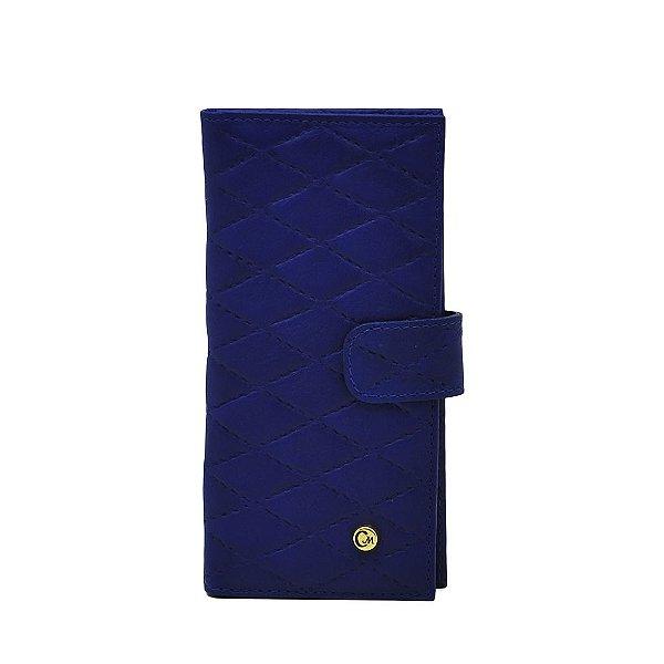 Carteira Média - Azul Royal - 286