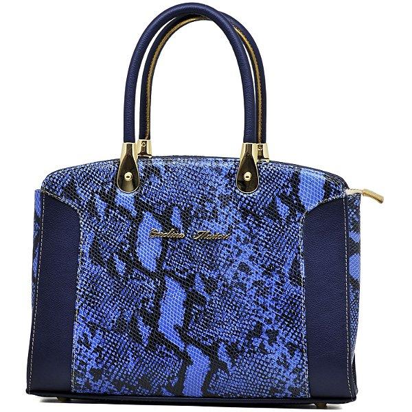 Bolsa De Mão Estruturada - 10300 - Azul