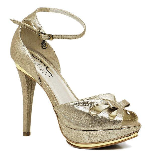da1f5e64b Sandália Salto Fino - 9761 - Prata Velho - Sapatos, bolsas e ...