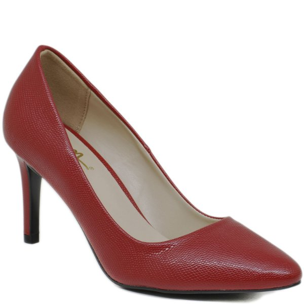 Scarpin Salto - Vermelho - 49479