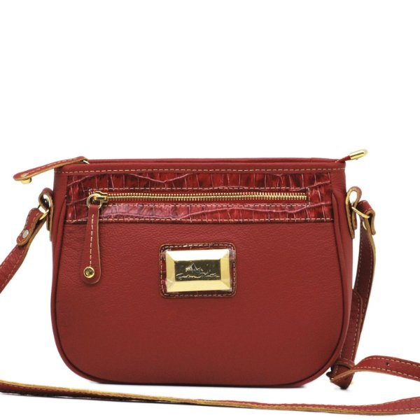 Bolsa Transversal  - 10354 - Vermelho
