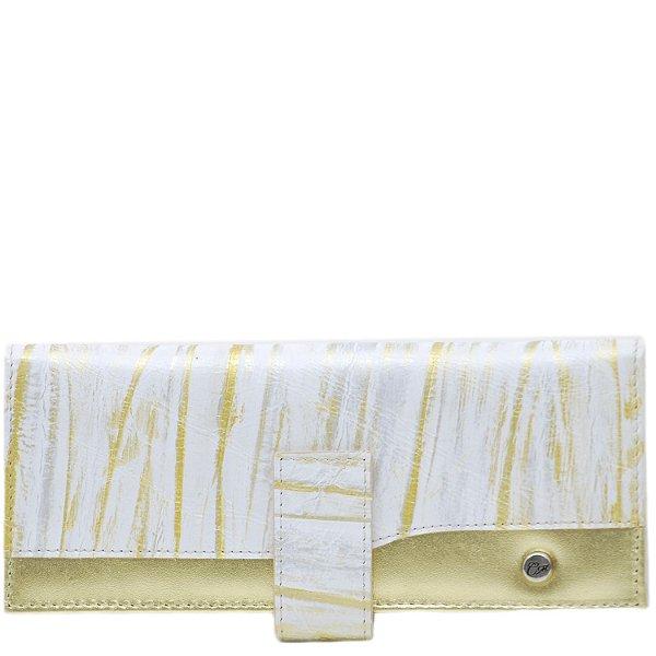 Carteira Grande - Branco/Ouro - 133