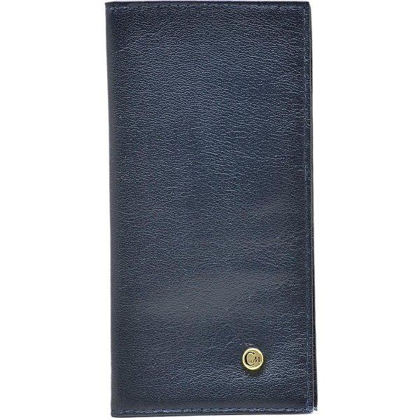 Carteira Pequena - Napa Azul Marinho - 275