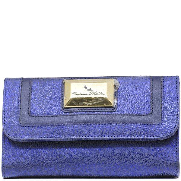 Carteira Grande - Safiano Azul - 2034