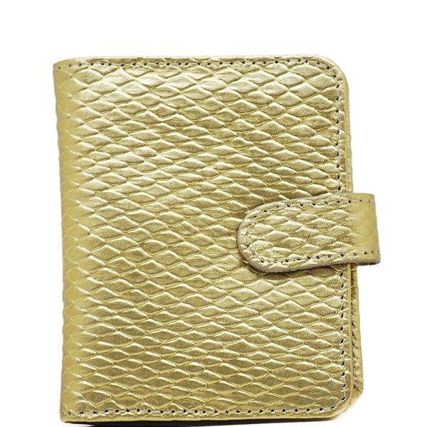 Carteira Pequena - Lezard Ouro - 212