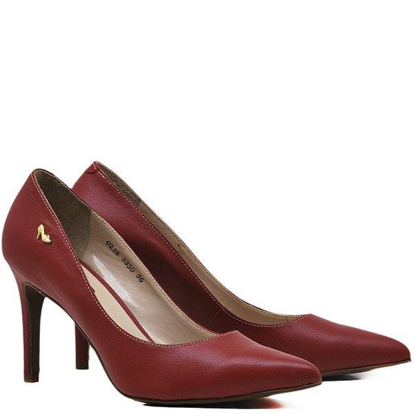 Scarpin Clássico Liso - 3350 - Vermelho