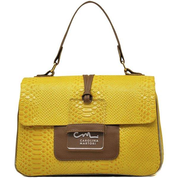 Bolsa Estruturada - 10276 - Amarela / Rum