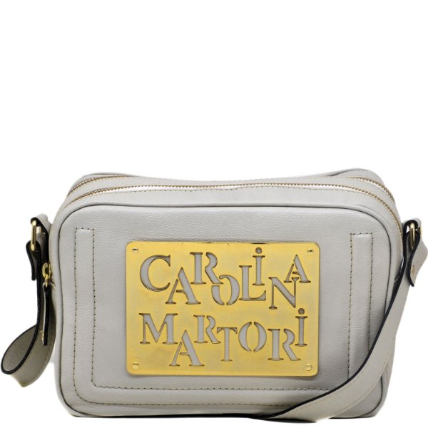 Bolsa Super Placa - Off White - FLOR 712