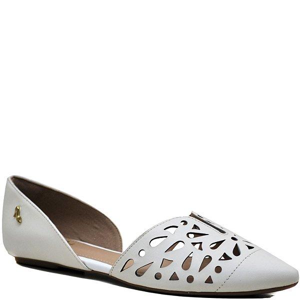 67df8c7c99 Sapatilha Bico Fino - Saia e Blusa - Napa Neve - ST 70521 - Sapatos ...