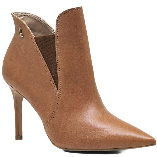 Bota Ankle Boot - Vegetal Caramelo - ST 80528