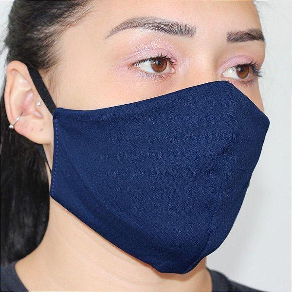 Máscara ANTIVIRAL com elástico e proteção permanente