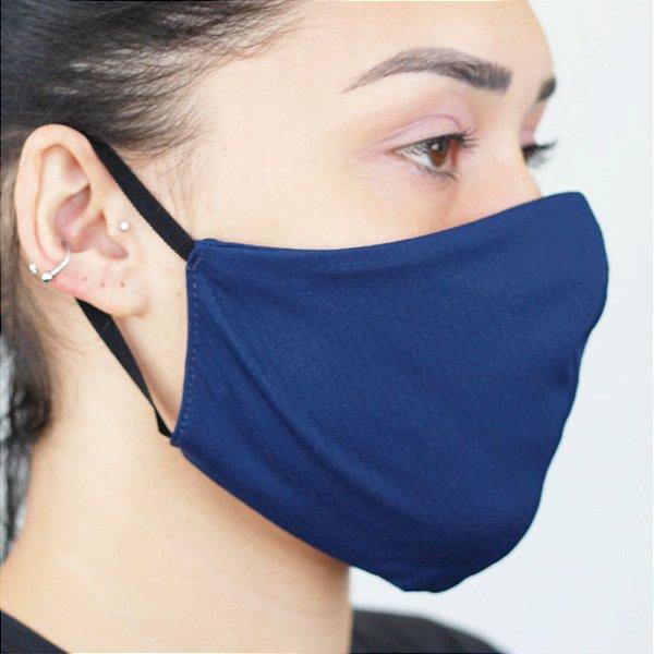 KIT C/ 3 Máscaras ANTIVIRAL com elástico e proteção permanente