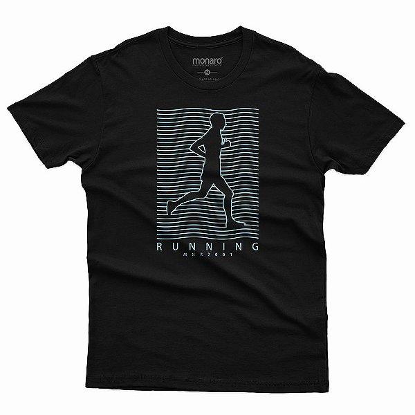Camiseta MONARO linhas 100% Poliamida