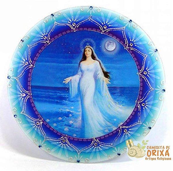 Mandala de Iemanjá 30cm Acrílico
