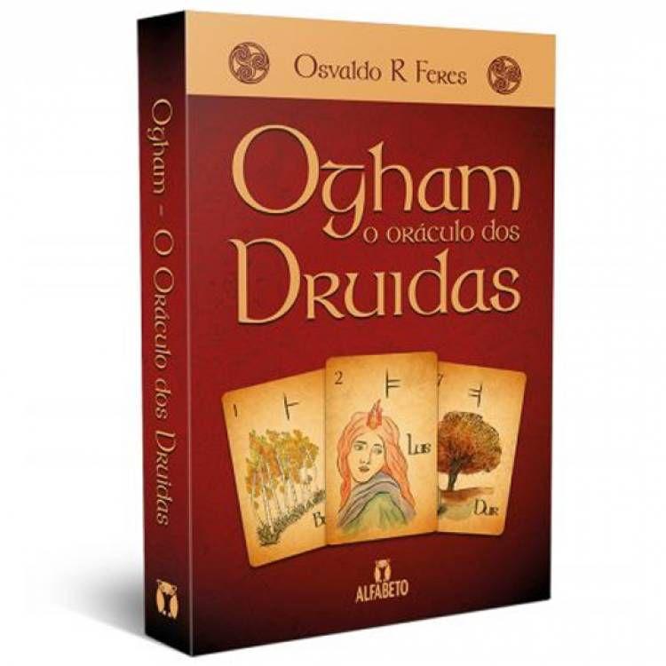 Tarô Ogham Oraculo dos Druidas Livro + 25 cartas