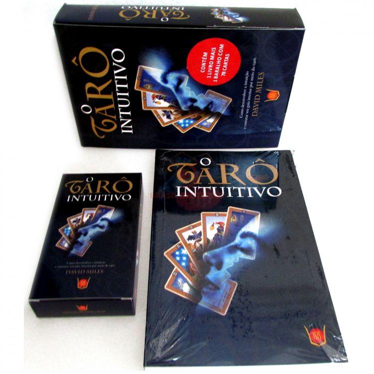 Tarô Intuitivo Livro + taro 78 cartas
