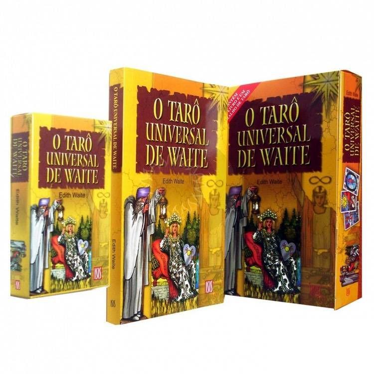 Tarô Universal de Waite 78 cartas + Livro