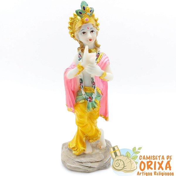 Krishna 12cm resina