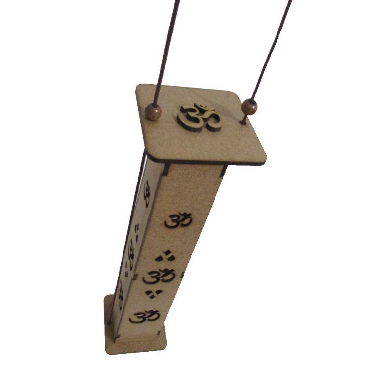 Incensario Torre MDF 29 cm Om Suspenso
