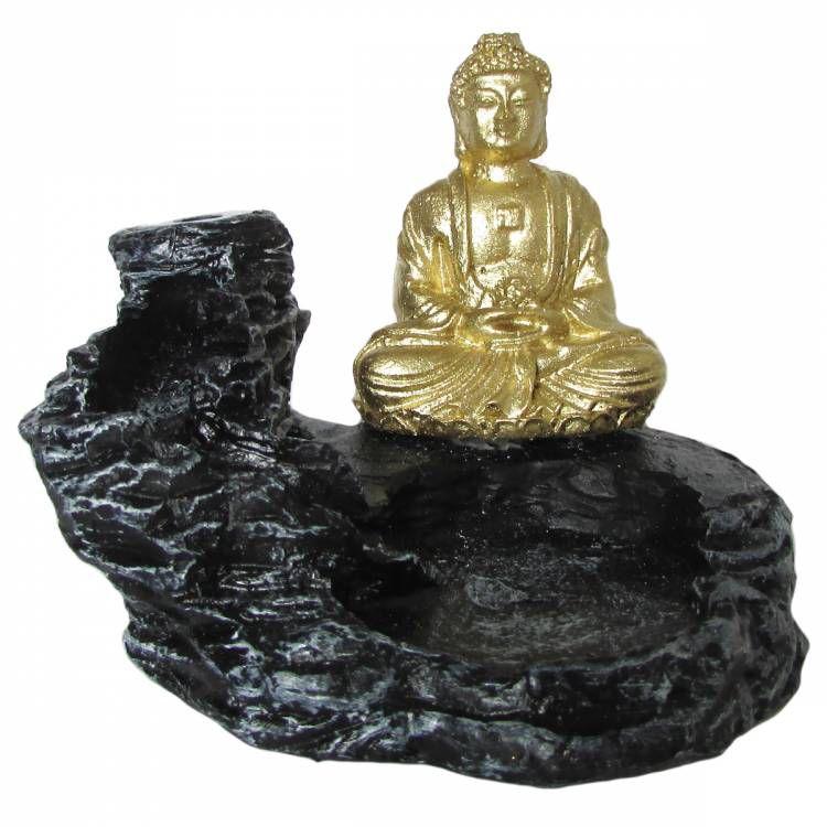Incensário Cascata Buda 7cm