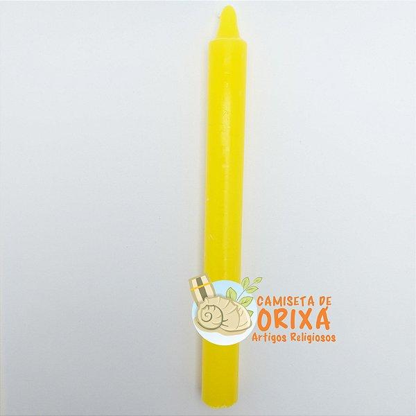 Vela Palito-Amarela-Maço com 8 unidades