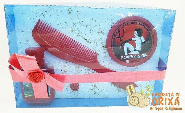 Estojo Pomba Gira - Perfume-Pente-Espelho