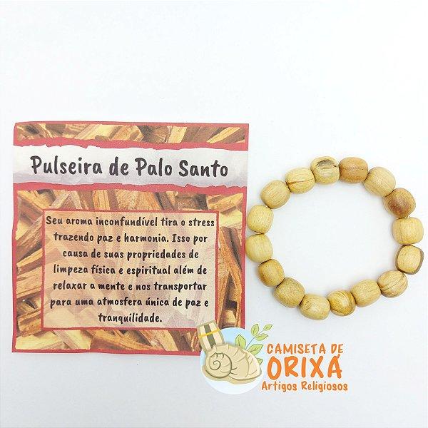 Pulseira de Palo Santo