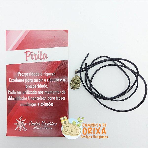 Colar Pirita