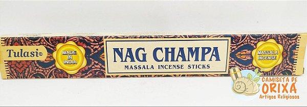 Incenso Nag Champa Tulasi Massala