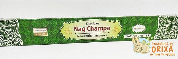 Incenso Nag Champa Natural Herbs Darshan Massala