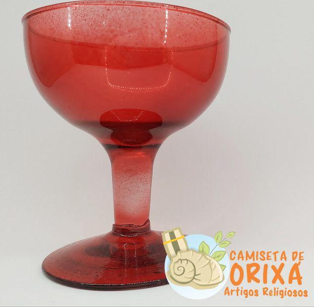 Taça Lisa Vermelha