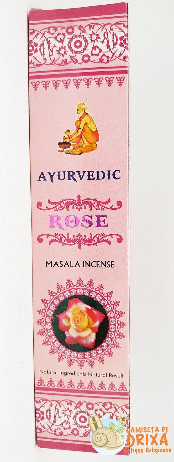 Incenso Rose Ayurvedic