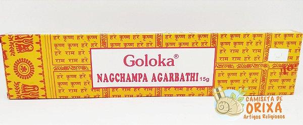 Incenso Goloka Nagchampa Agarbathi