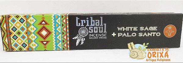 Incenso White Sage + Palo Santo Tribal Soul