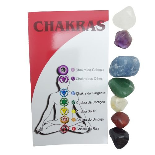 Kit Pedras dos Chakras P