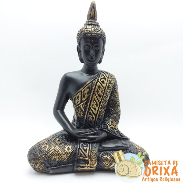 Buda Bali Dourado 20cm